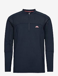 EL COCULLO 1/2 ZIP TOP - basic sweatshirts - navy