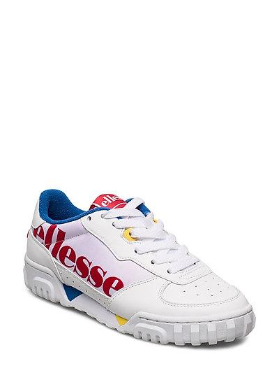 El Tanker Lo Og Wht/Red/Blu Niedrige Sneaker Bunt/gemustert ELLESSE