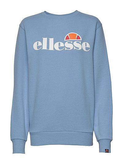 El Agata Sweatshirt Sweat-shirt Pullover Blau ELLESSE