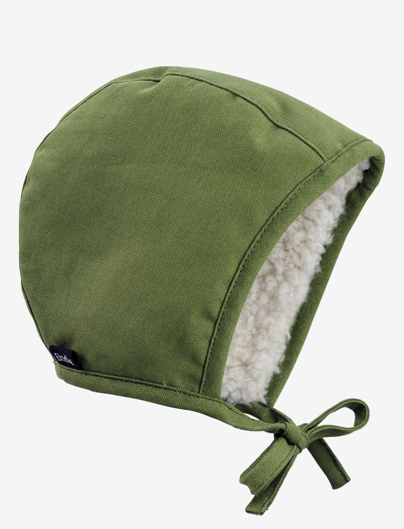 Elodie Details - Winter Bonnet - Popping Green - babyhuer - bright green - 0