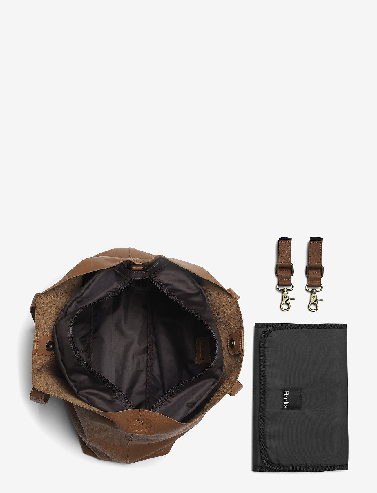 ChangingBag - Chestnut Leather (Brown) (259 €) - Elodie Details toAoT