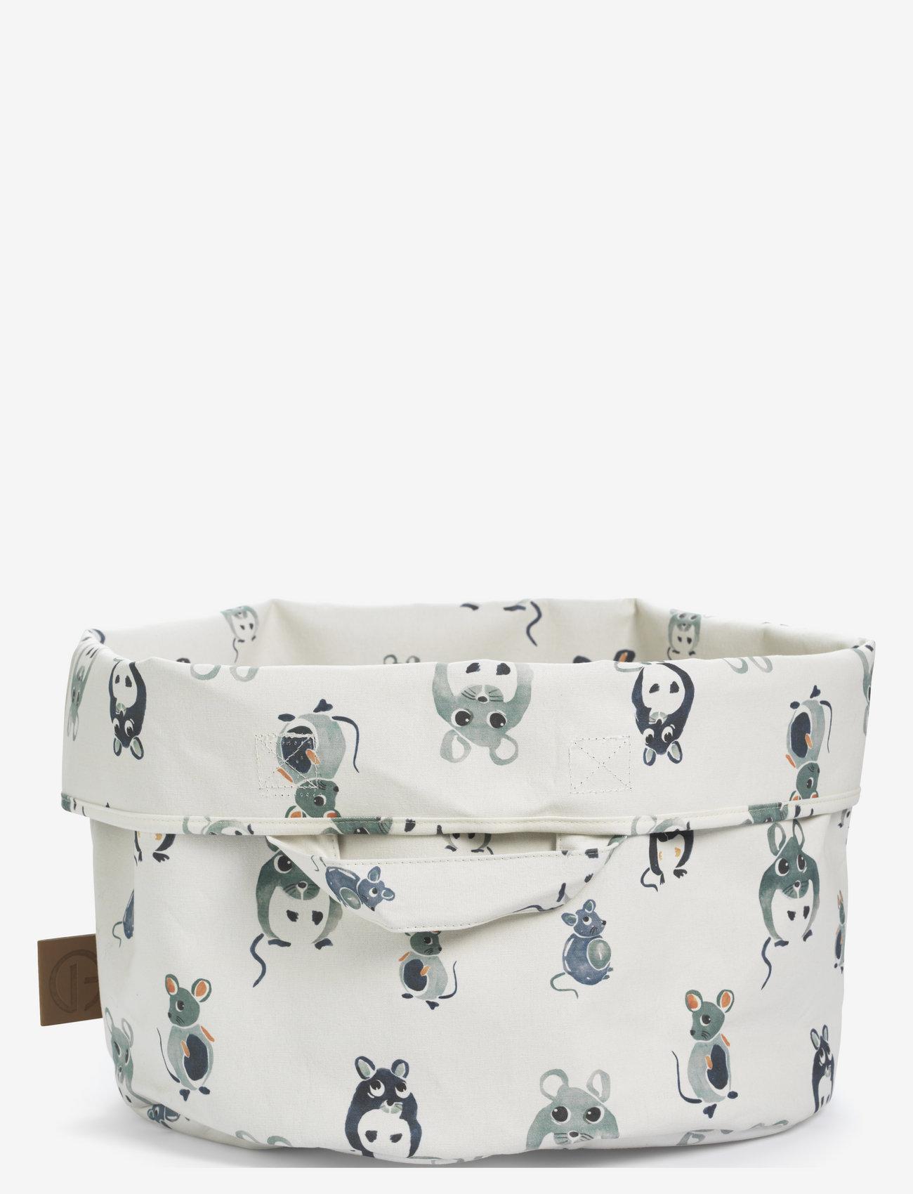 Elodie Details - StoreMyStuff - Forest Mouse - przechowywanie - white/mint/dusty blue - 1