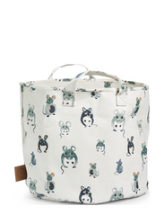 StoreMyStuff - Forest Mouse - WHITE/MINT/DUSTY BLUE