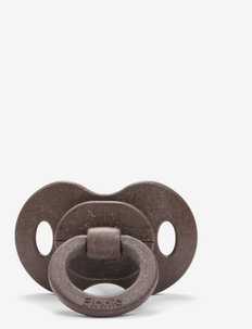 Bamboo Pacifier - Chocolate Natural Rubber - smoczki - brown