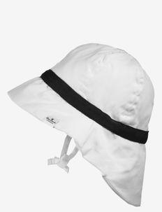 Sun Hat - Precious Preppy - solhatt - white