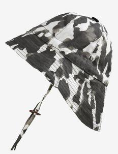 Sun Hat - Wild Paris - solhatt - white/black/grey