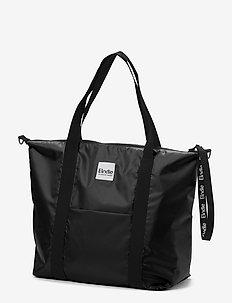Changing  Bag - Soft Shell Brilliant Black - luiertassen - off black