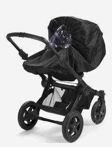 Rain Cover - Brilliant Black - barnevognstilbehør - black