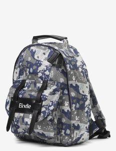 BackPack MINI - Rebel Poodle - backpacks - dark blu/green/white