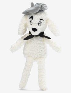 Snuggle - Rebel Poodle Vanilla White - soft toys - white