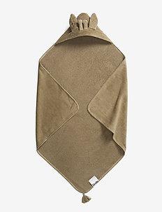 Hooded Towel - Kindly Konrad - kąpiel - beige
