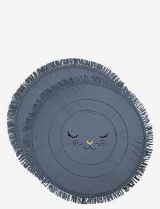 PlayMat - Tender Blue - mata podłogowa dla dzieci - dusty blue