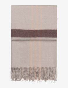Elegance throw (beige/nude/chocolate) - decken - beige