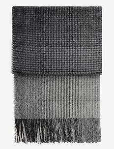 Horizon plaid - tæpper - grey