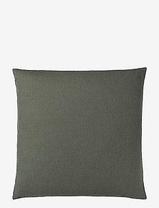 Classic cushion - puder - botanic green