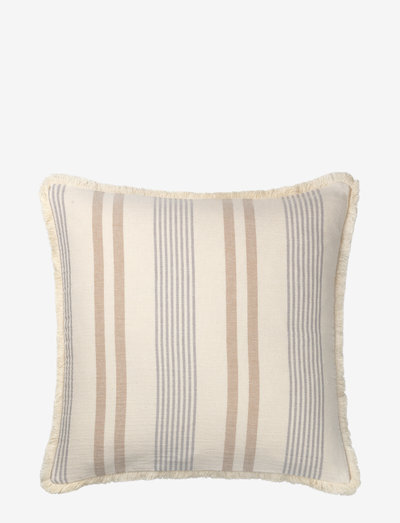 Iris cushion - puder - beige/grey