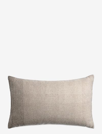 Horizon cushion - puder - brown