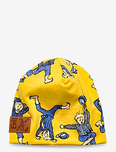 STUNT BEANIE - hats - yellow