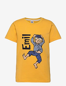 HAPPY EMIL T-SHIRT - kortærmede - yellow
