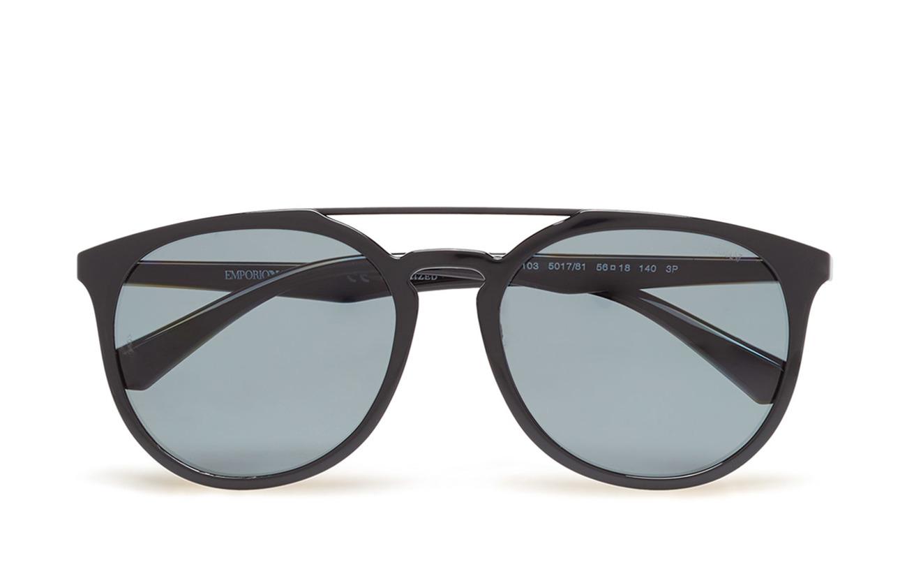 5a963b38848 Round Frame (Black) (£135) - Emporio Armani Sunglasses -