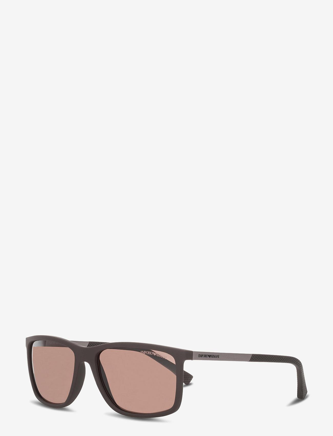Emporio Armani Sunglasses - 0EA4058 - d-shaped - brown - 1