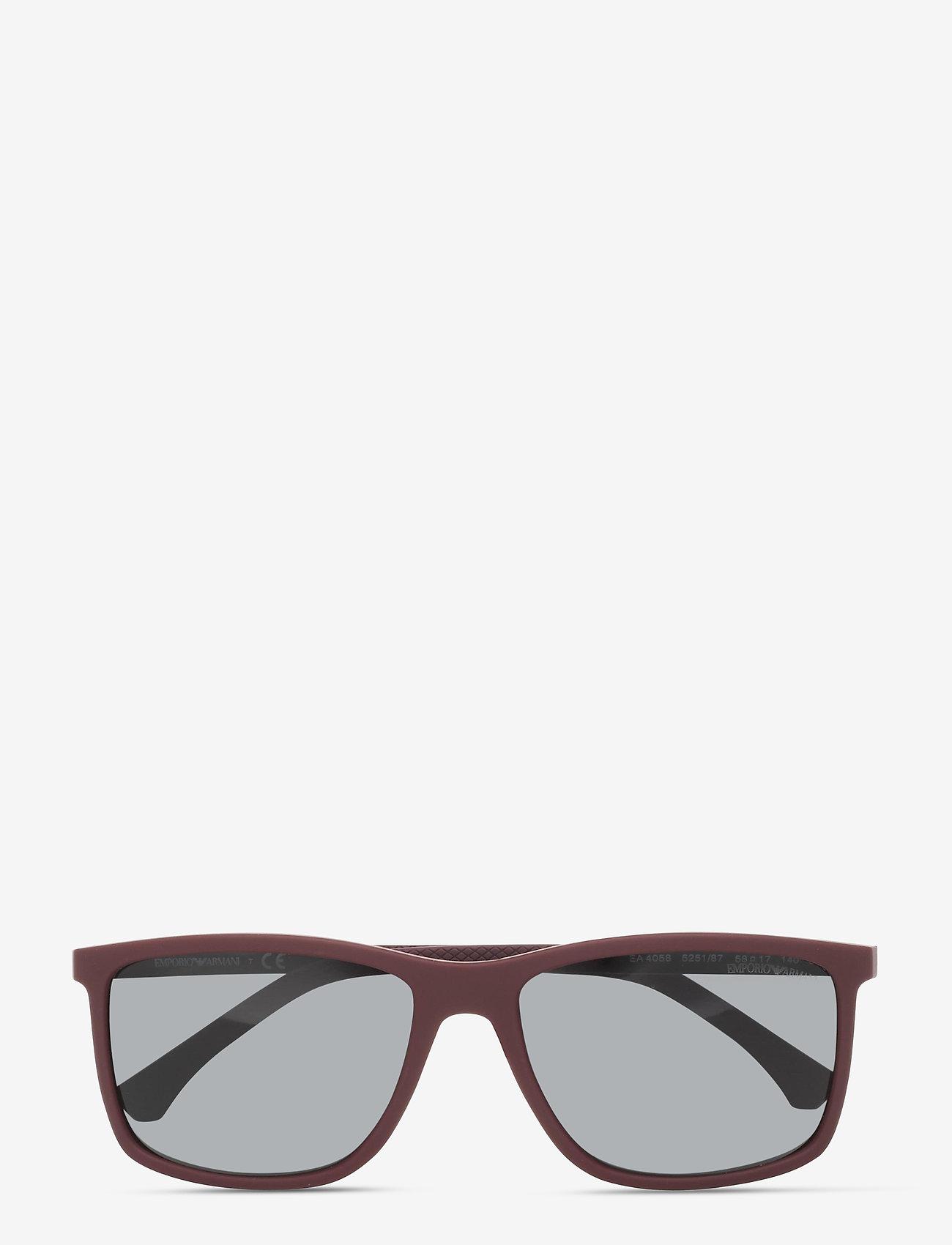 Emporio Armani Sunglasses - 0EA4058 - d-shaped - grey - 0