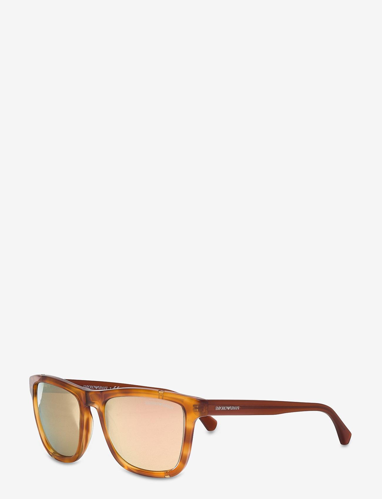 Emporio Armani Sunglasses - 0EA4126 - d-shaped - blonde havana - 1