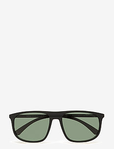 Emporio Armani Sunglasses - BLACK RUBBER