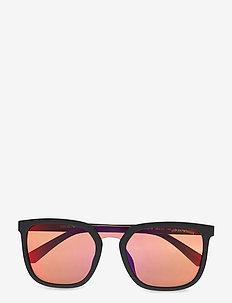 0EA4123F - okulary przeciwsłoneczne w kształcie litery d - matte black