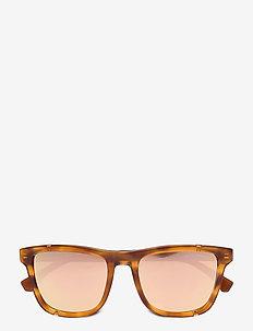 0EA4126 - okulary przeciwsłoneczne w kształcie litery d - blonde havana