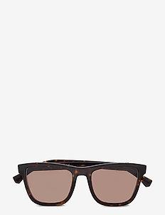 0EA4126F - okulary przeciwsłoneczne w kształcie litery d - havana