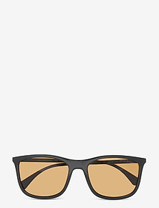 Sunglasses - d-shaped - brown polar