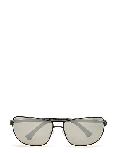 Emporio Armani Sunglasses Wayfarer Sonnenbrille Schwarz EMPORIO ARMANI SUNGLASSES