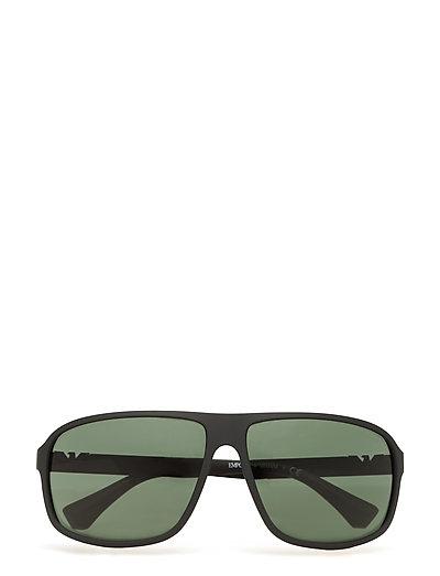 Essential Leisure Wayfarer Sonnenbrille Schwarz EMPORIO ARMANI SUNGLASSES