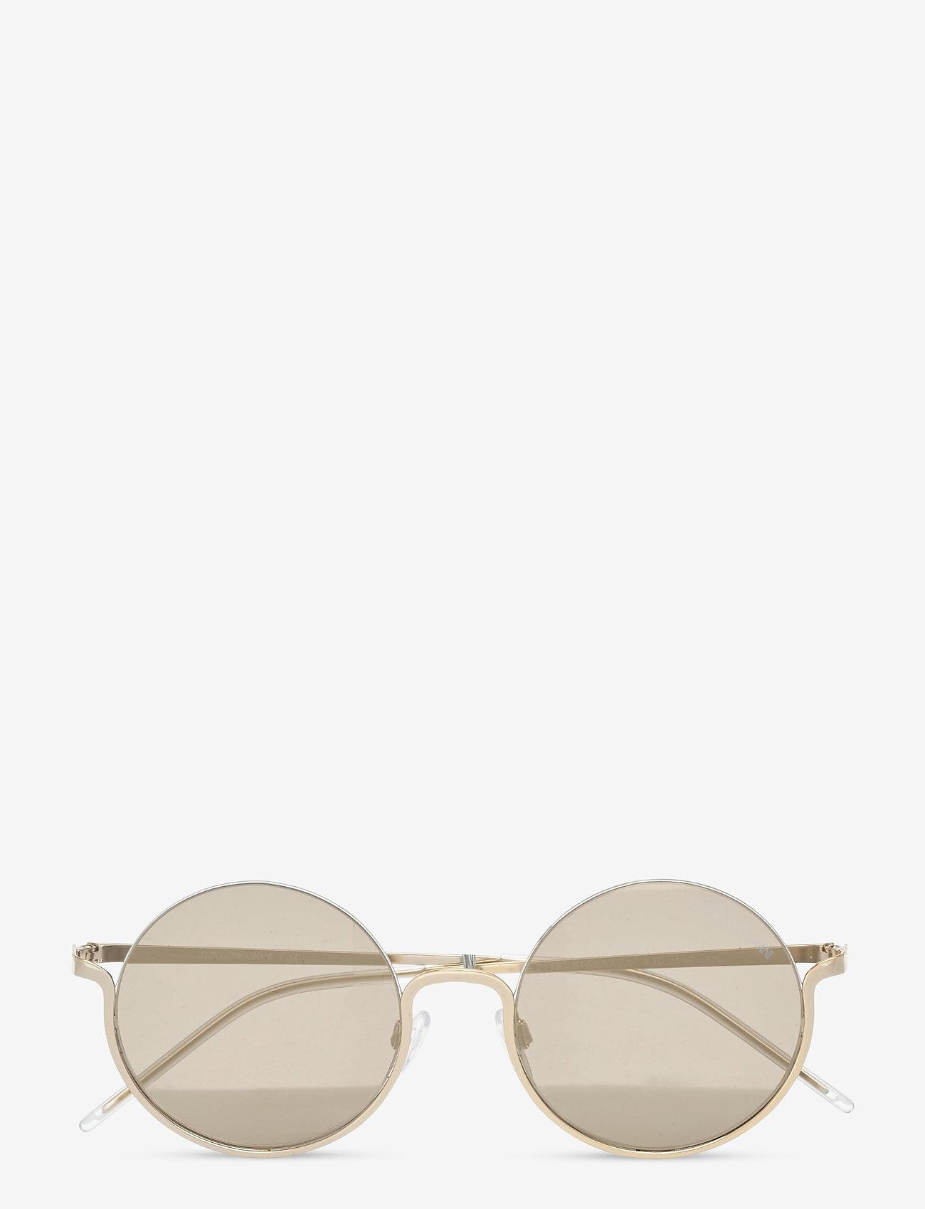 Emporio Armani Sunglasses - Sunglasses - rond model - mirror gold - 0