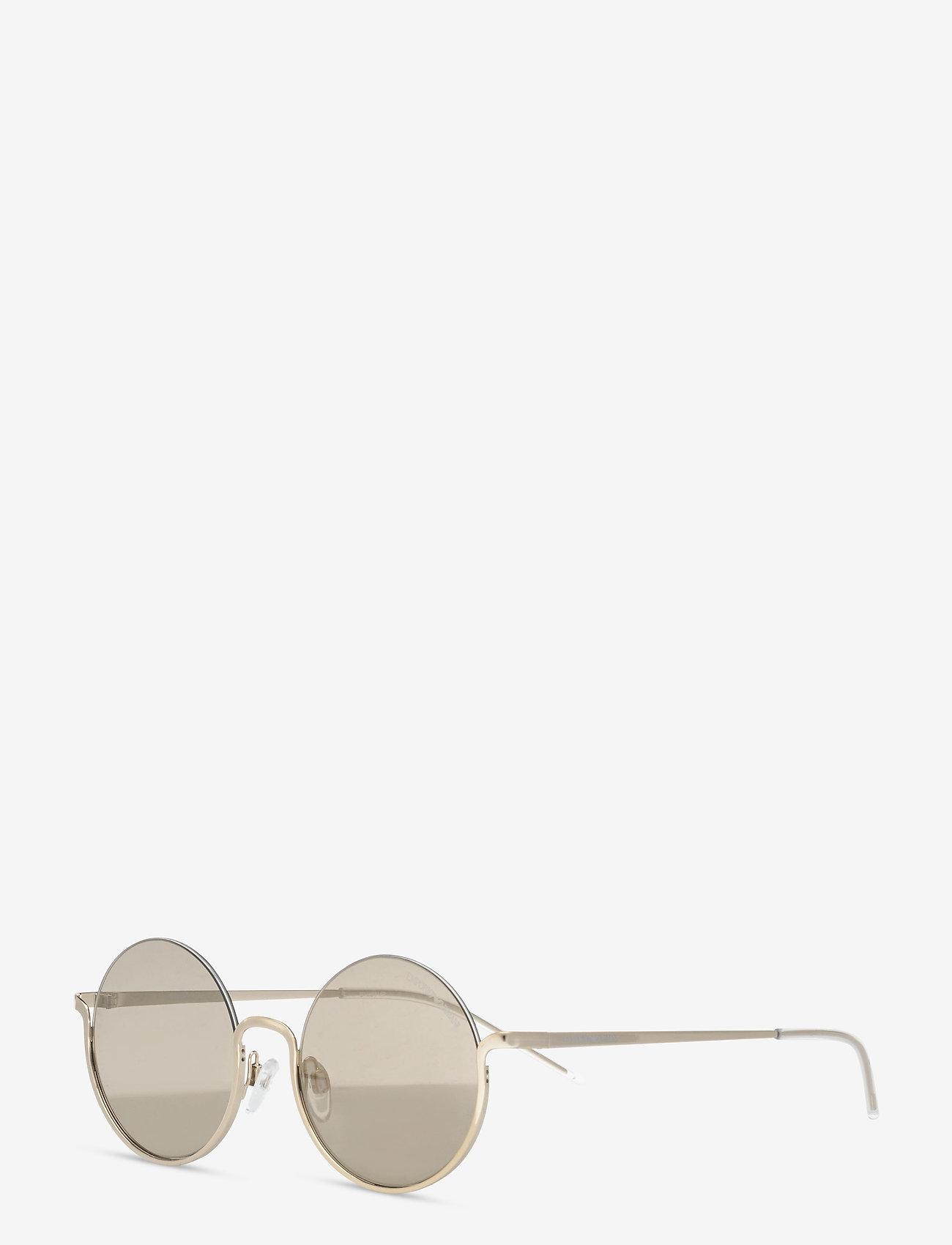Emporio Armani Sunglasses - Sunglasses - rond model - mirror gold - 1