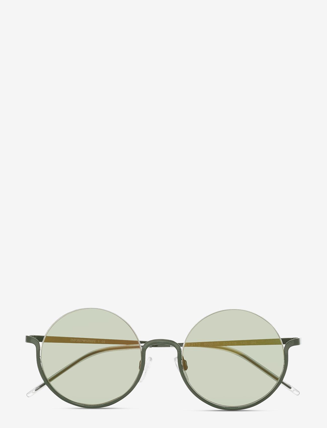 Emporio Armani Sunglasses - Sunglasses - rond model - mirror green - 0