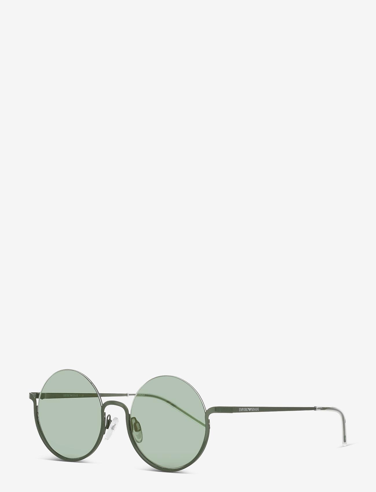 Emporio Armani Sunglasses - Sunglasses - rond model - mirror green - 1