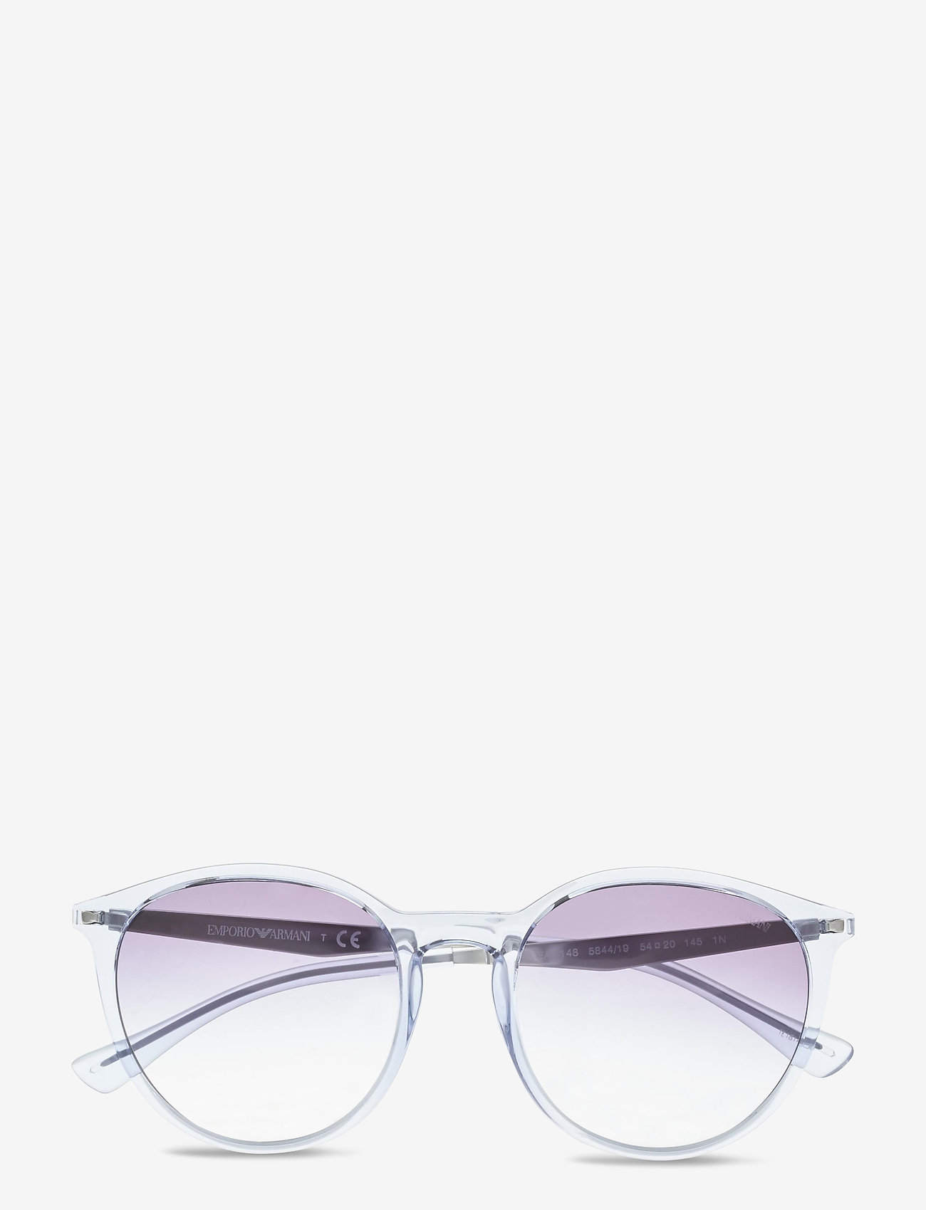 Emporio Armani Sunglasses - Sunglasses - rond model - gradient light blue - 0