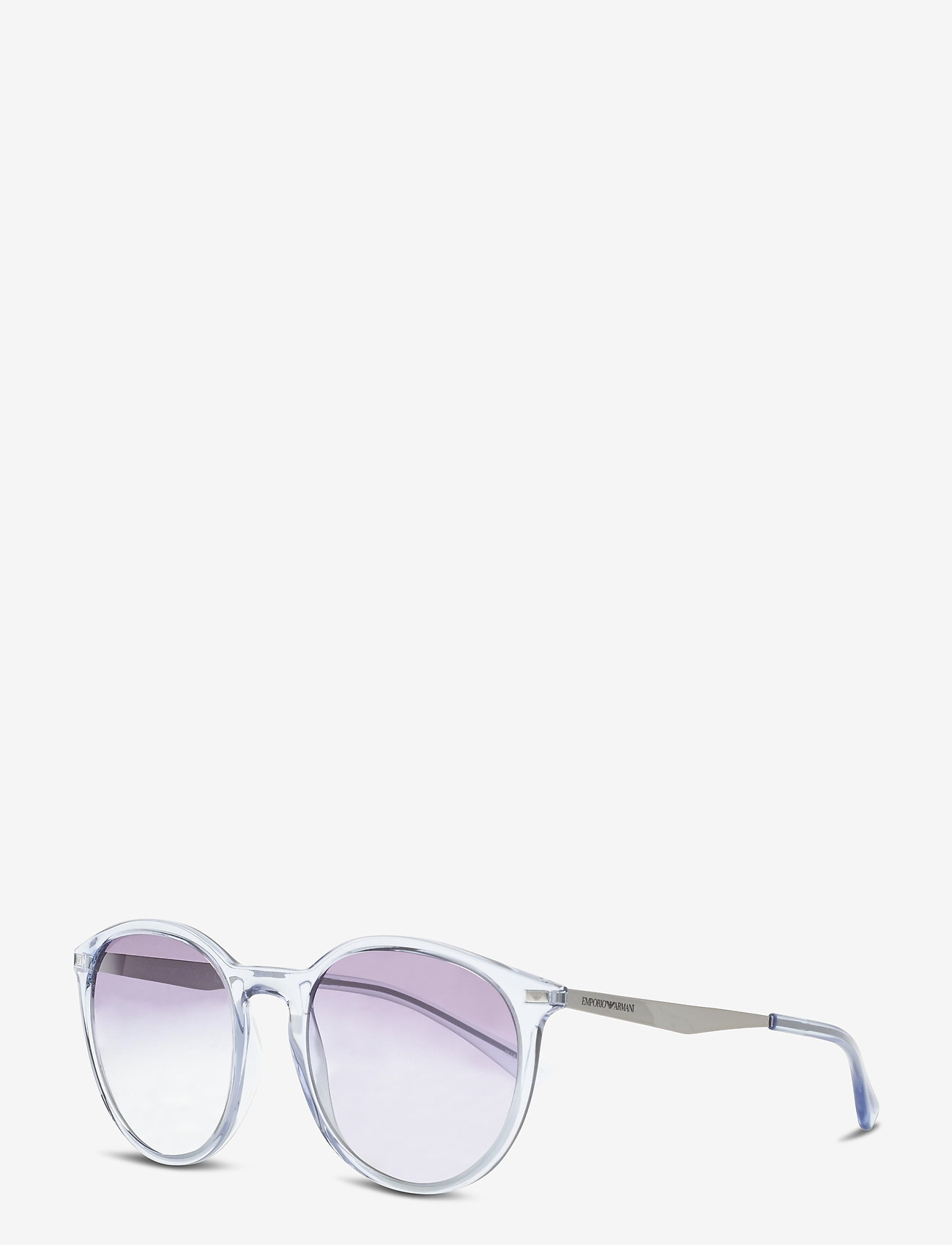 Emporio Armani Sunglasses - Sunglasses - rond model - gradient light blue - 1
