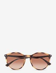 Emporio Armani Sunglasses - Sunglasses - rond model - gradient brown - 0