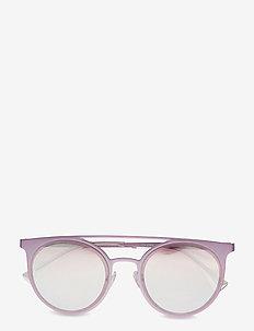 0EA2068 - round frame - metallized pink
