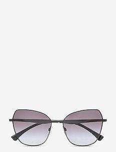 Sunglasses - neliökehys - gradient grey