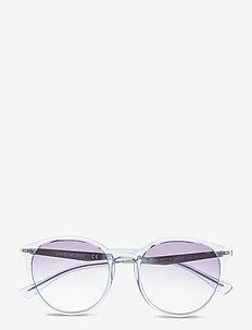 Sunglasses - rond model - gradient light blue