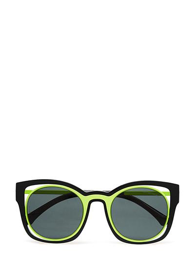db1daeecffd Emporio Armani Sunglasses Cat Eye (Black)