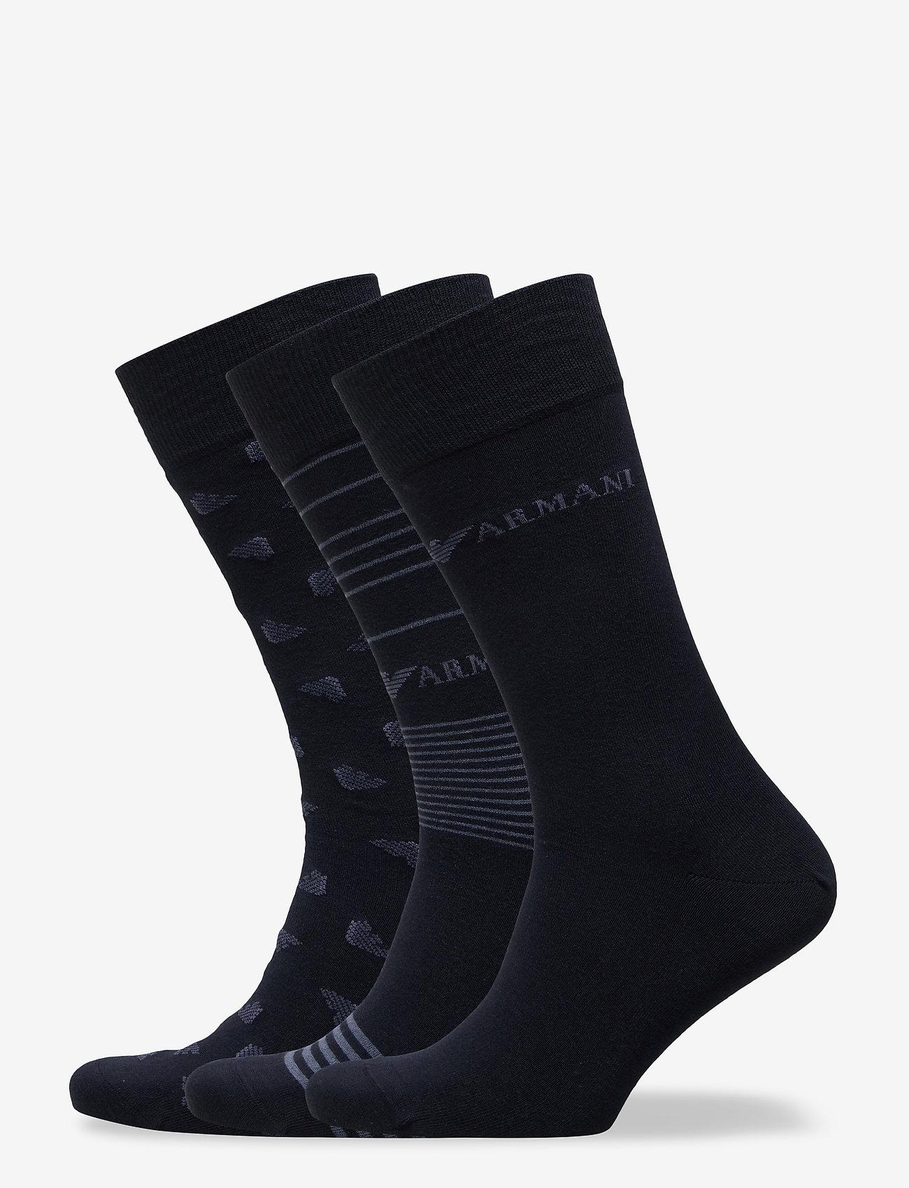 Emporio Armani - SOCKS - tavalliset sukat - blu navy - 0