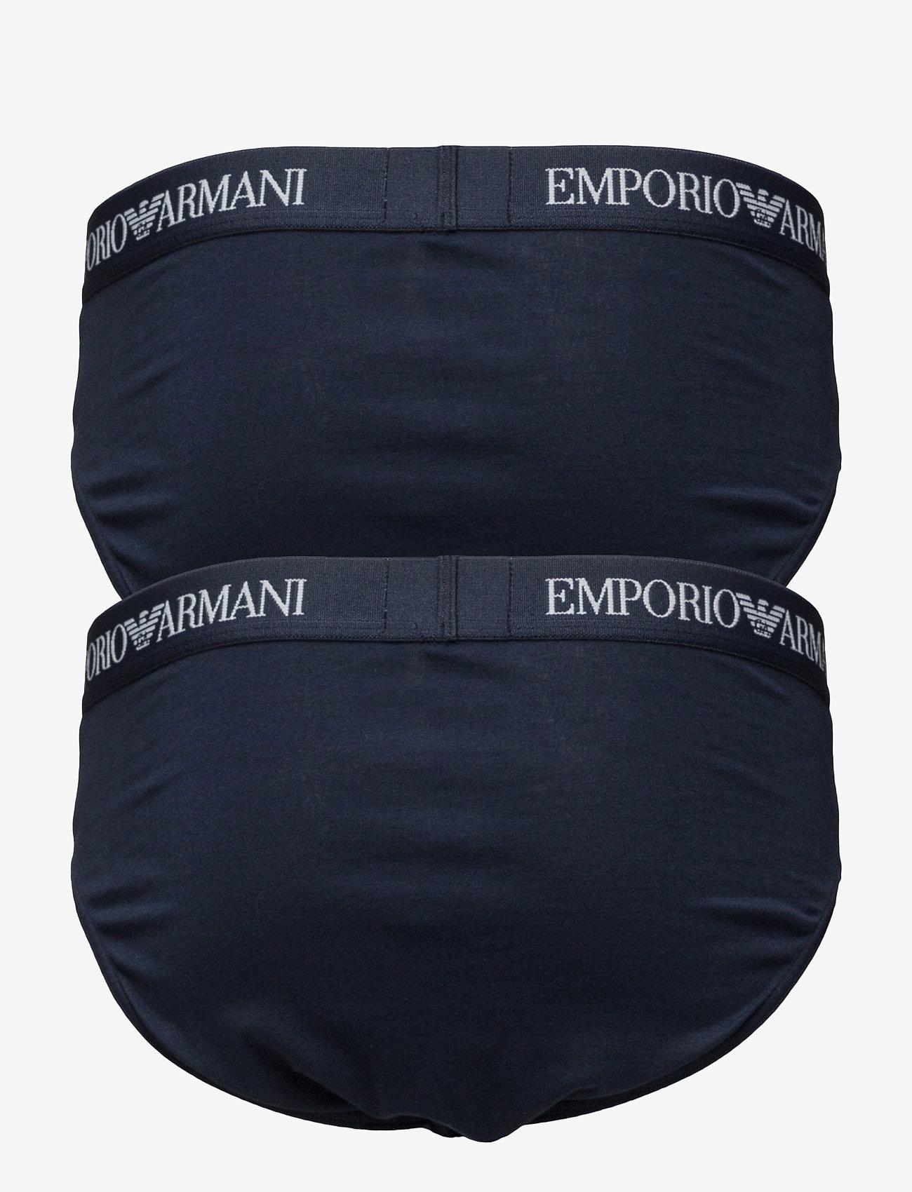 Emporio Armani - MENS KNIT 2PACK BRIE - alushousut - marine/marine - 1