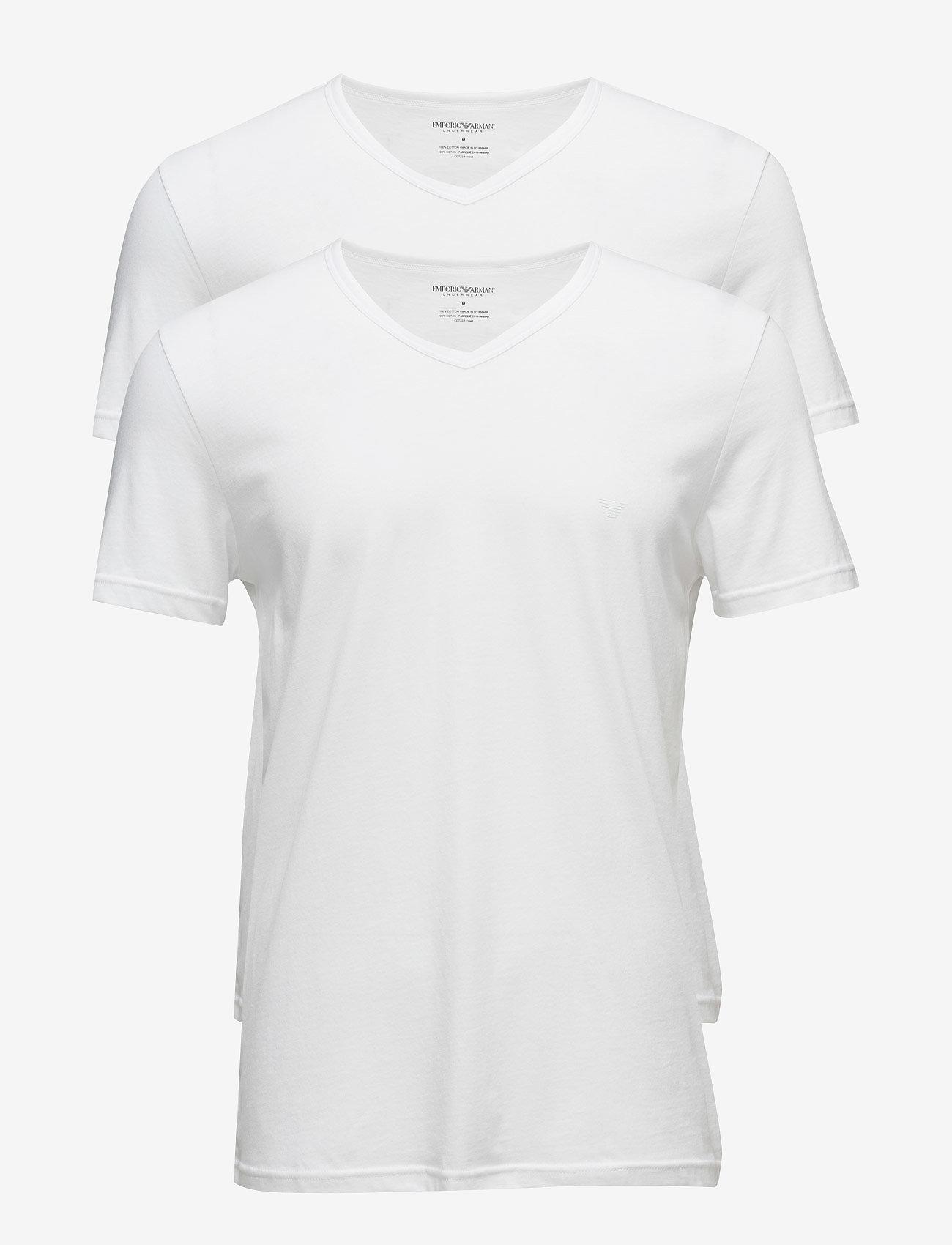Emporio Armani - MENS KNIT 2PACK TSH - multipack - bianco/bianco - 0
