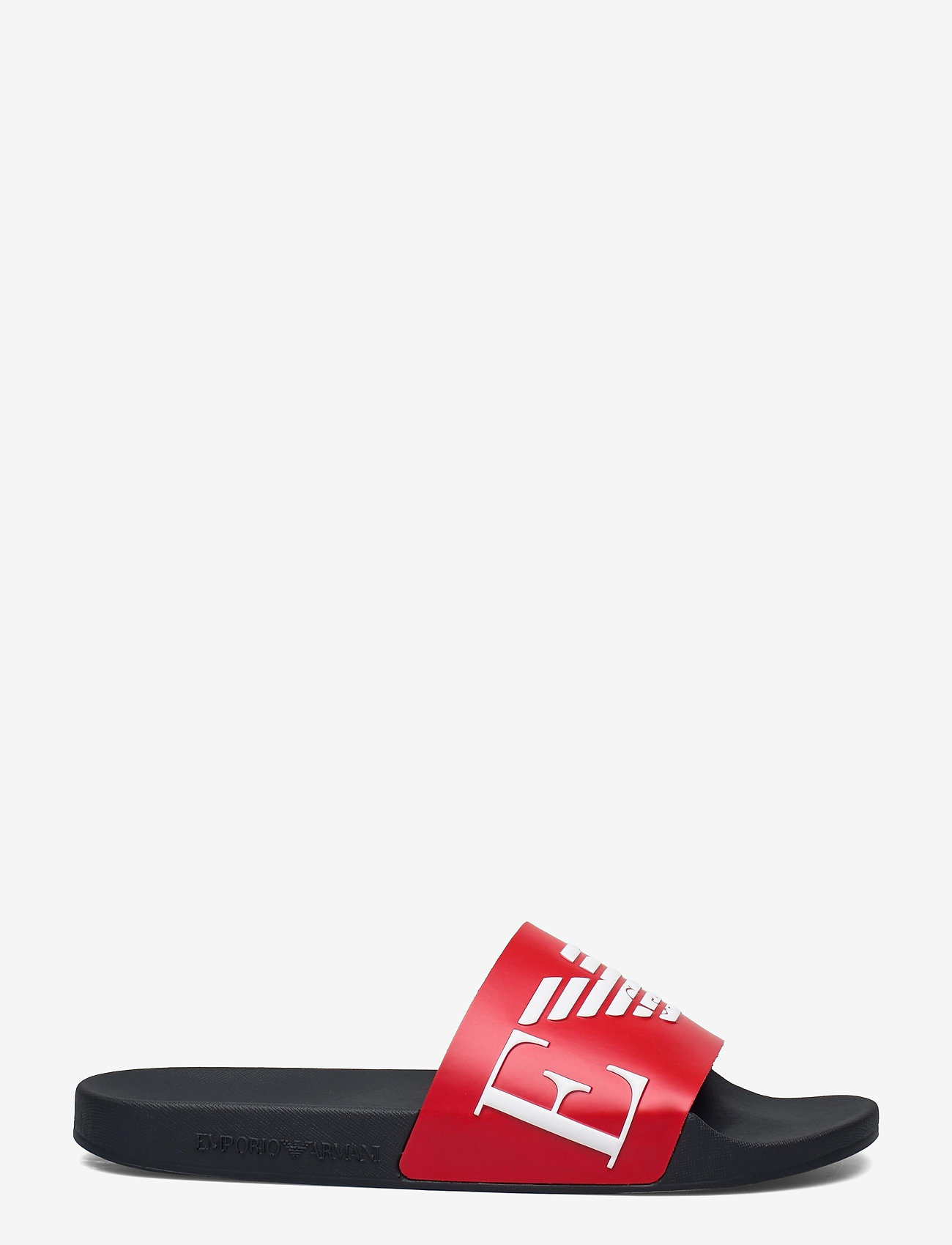 Emporio Armani - SLIPPER - pool sliders - red+white+marine - 1