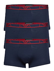 MEN'S KNIT 3-PACK TRUNK - MARINE/MARINE/MARINE